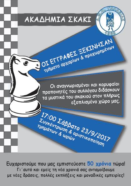 Μαθήματα Σκάκι –Ζωγραφικής