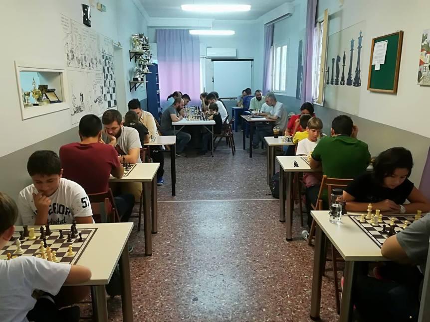 Μαζικό Τουρνουά Σκάκι στοΓαλαξία