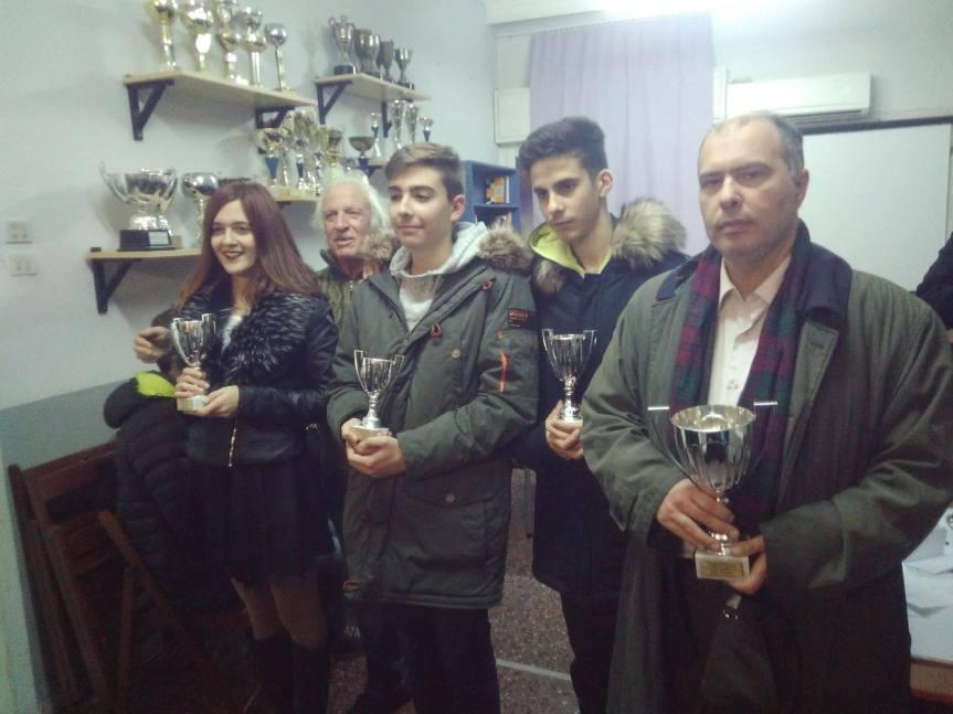 Ο Γιώργος Σιδέρης νικητής στο Χριστουγεννιάτικο Τουρνουά!